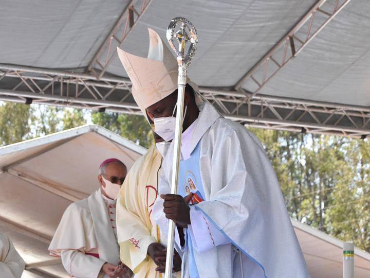 New Diocese of Dedza Bishop Peter Adrian Chifukwa